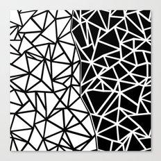 Ab Split Canvas Print