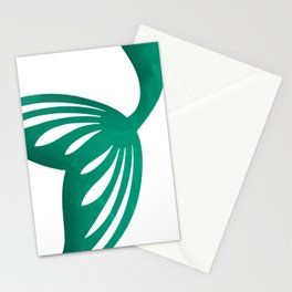 Mermaid at the sea Stationery Cards