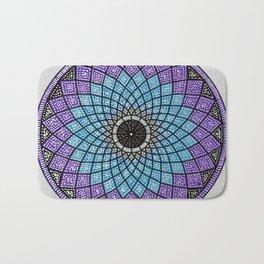 Mandala 8 Bath Mat