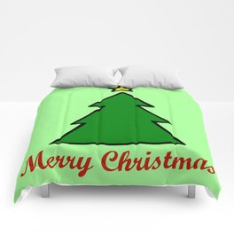 Merry Christmas, Christmas Tree Comforters