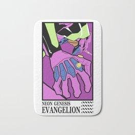 Evangelion eva01 unit Bath Mat