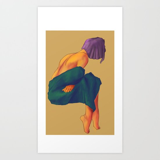 I'm Cold Art Print