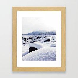 Snowscape Framed Art Print