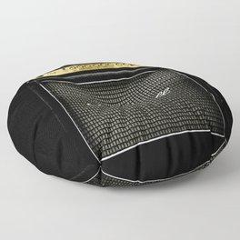 Gray amp amplifier Floor Pillow