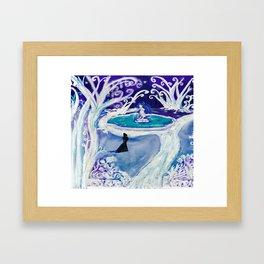 The Ice Garden Framed Art Print