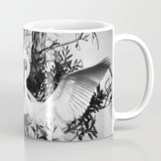 Great Egret In The Trees Mug