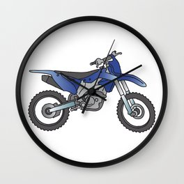 Motocross motorcycle Wall Clock