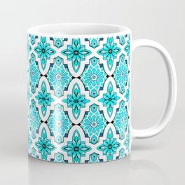 Turquoise Moroccan tile Coffee Mug