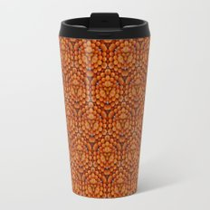 Oranges Pattern Travel Mug