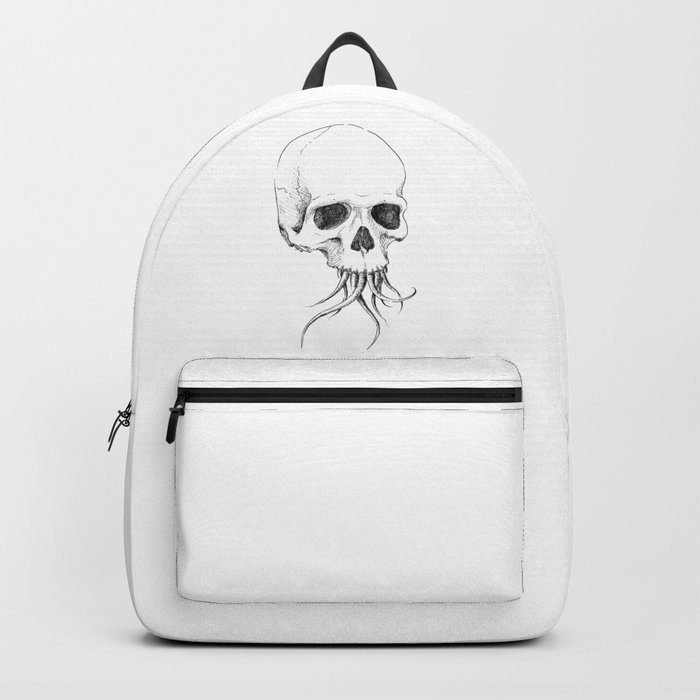 Skull with Tentacles Backpack