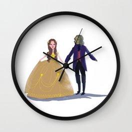 Cute Rumbelle Wall Clock