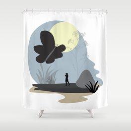 Be amazed Shower Curtain