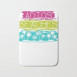 Adios Beach Travel Bath Mat