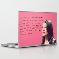 glee Laptop & iPad Skins featuring glee 1 by Willow Summers