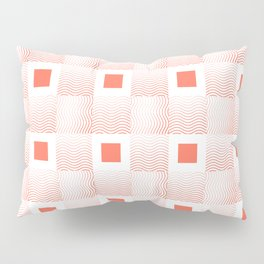 Rachel's Wavy Coral Pattern Pillow Sham
