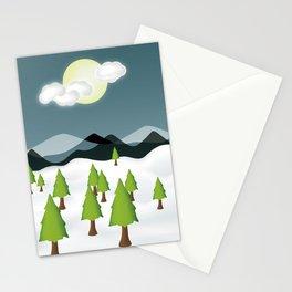 Midnight Isolation Stationery Cards