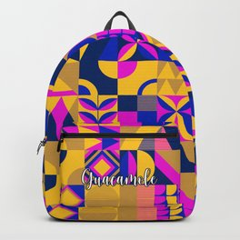 SQUARES MULTICOLOR Backpack