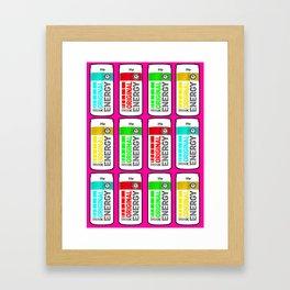 Unnecessary Energy Framed Art Print