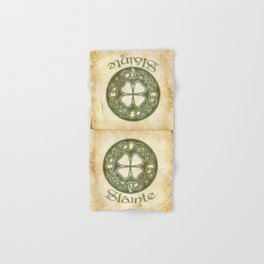 Slainte or To Your Health Hand & Bath Towel