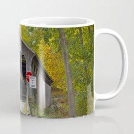 White's Covered Bridge in Fall Coffee Mug