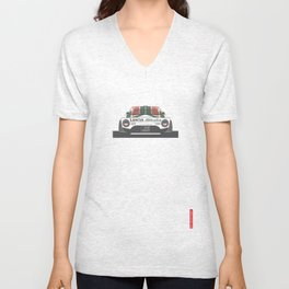 Lancia Stratos Rear Unisex V-Neck