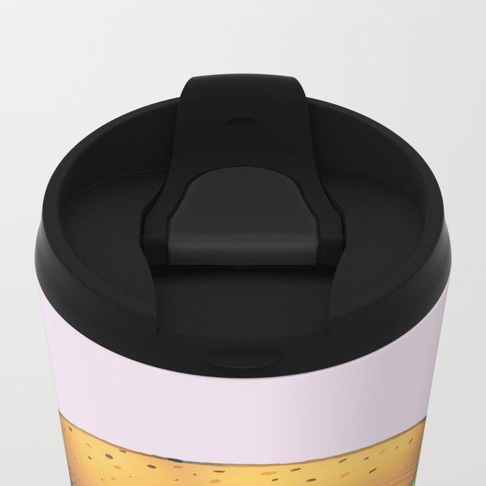 Parrot Burger Travel Mug