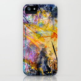 Space Kaboom iPhone Case