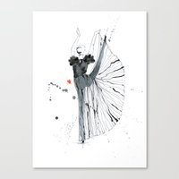 dancer Canvas Prints featuring dancer*** by youdesignme
