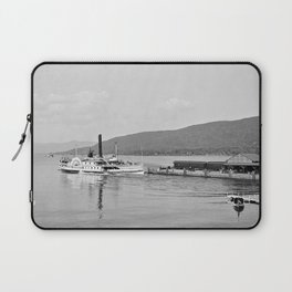 The Horicon I Steamboat 1904 Laptop Sleeve