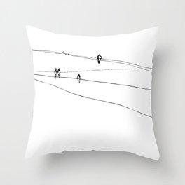 swallows Throw Pillow