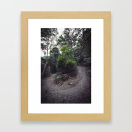 Around the Bend Framed Art Print