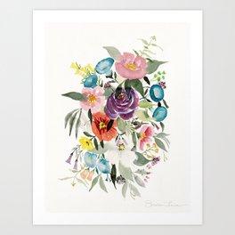Loose Bouquet no. 3 Art Print