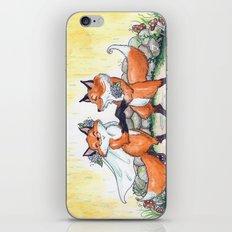 Fox Wedding  iPhone & iPod Skin