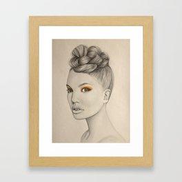 mandarina Framed Art Print