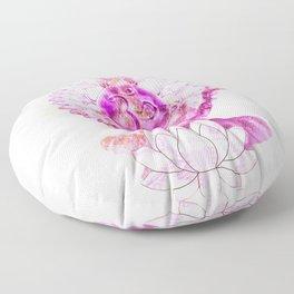 "Chakra Asana 1 ""Sahasrara"" Floor Pillow"