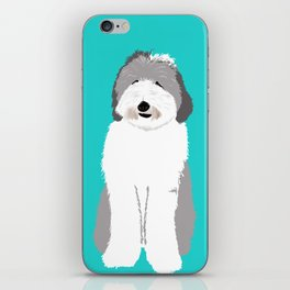 Lucy The Sheepadoodle iPhone Skin