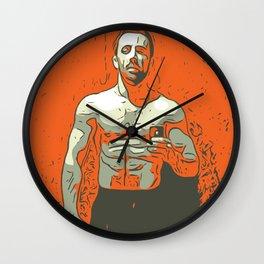 Young man Wall Clock