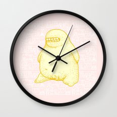 Golden Boy Wall Clock