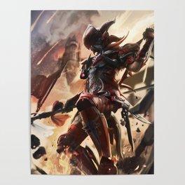 FFXIV: dragoon Poster