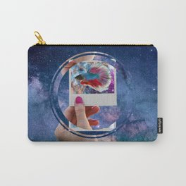 Siamese Fighting Fish by GEN Z Carry-All Pouch