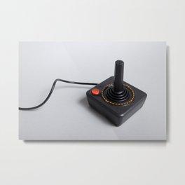 Atari joystick Metal Print