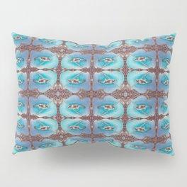 Bird Song Pattern Pillow Sham