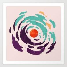 Sun Inside Me Art Print