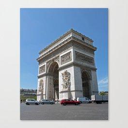 Paris (arc de triomphe) Canvas Print
