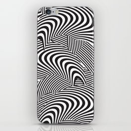 opt/out iPhone Skin