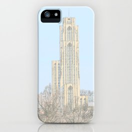 Cathedral of Learning 2 iPhone Case
