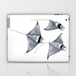 Devil fish Manta ray Mobula mobular Laptop & iPad Skin
