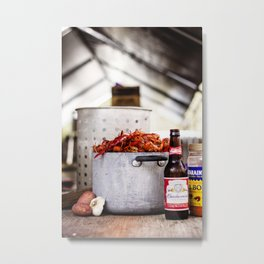 Louisiana Livin' Metal Print