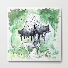 Empire of Mushrooms: Coprinopsis Atramentaria Metal Print