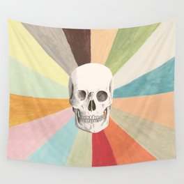 Skull is Cool Wall Tapestry